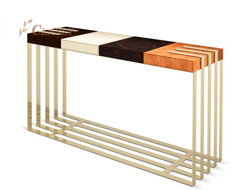 Simple Design Storage Console Table