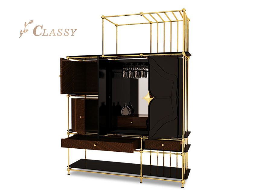 Luxury Wine storage Cabinet