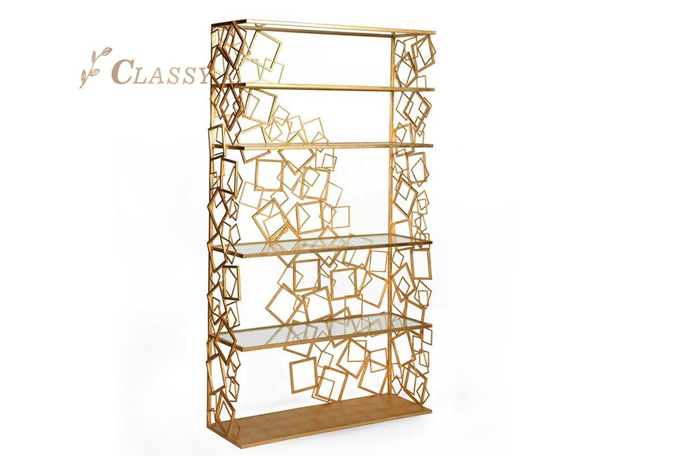 Metal Square Decoration Shelf