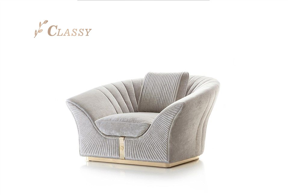 Living Room Fabric Sofa