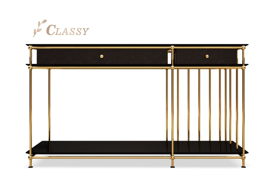 Hotel Luxury Console Table