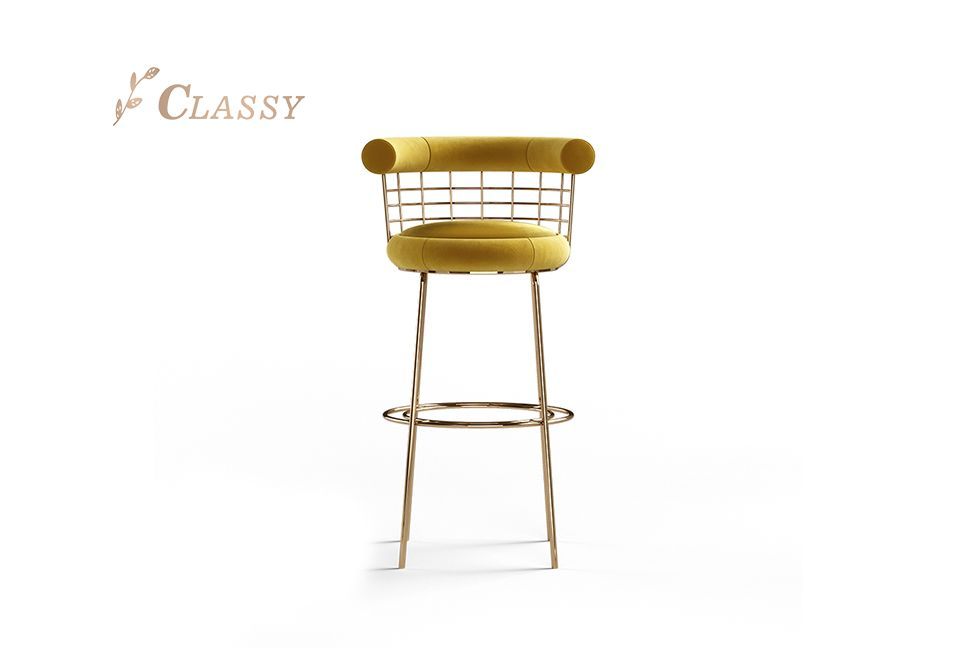 Mesh Steel Bar Chair
