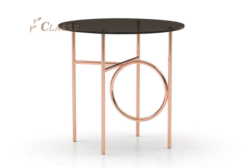 Glass Modern Side Table