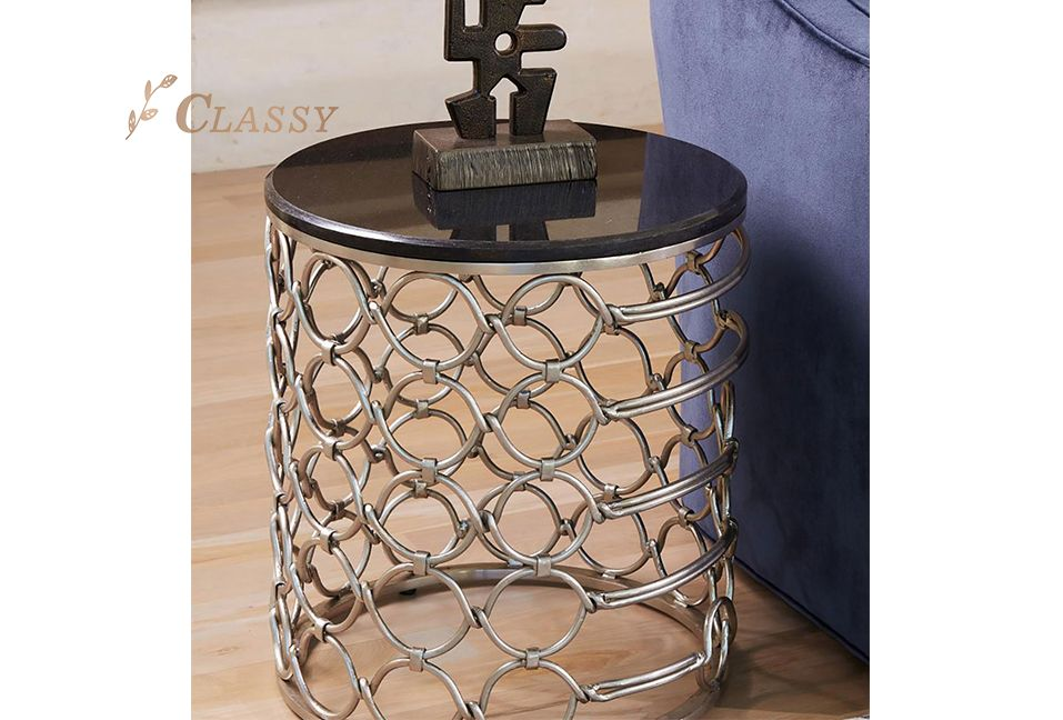 Hotel Furniture Glass Side Table