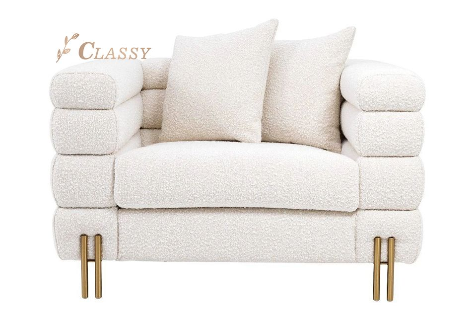 Luxury Single Modern Sofa